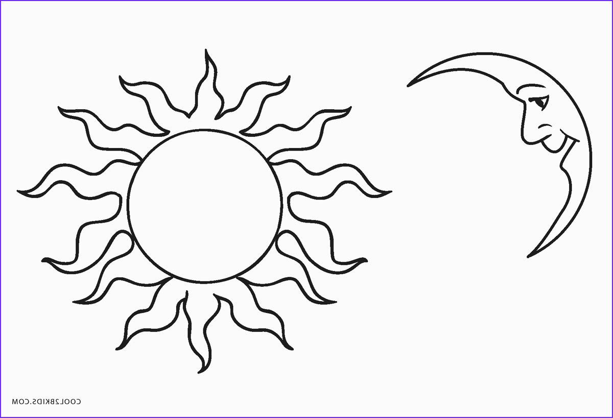 Moon Coloring Pages Beautiful Stock Free Printable Sun Coloring Pages for Kids