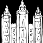 Mormon Coloring Pages Beautiful Photos Melonheadz Lds Illustrating I Love To See The Temple