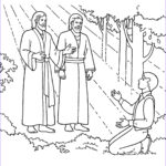 Mormon Coloring Pages Elegant Collection The First Vision Joseph Sees God The Father And Jesus Christ