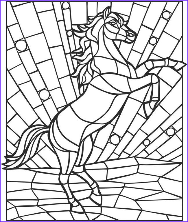 Mosaic Coloring Book Luxury Gallery Mosaic Coloring Pages Animals Coloring Home