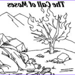 Moses And The Burning Bush Coloring Page Elegant Photos Image Result For Moses And Burning Bush Coloring Pages