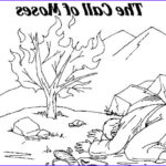 Moses And The Burning Bush Coloring Pages New Photos Moses Printable Coloring Pages