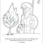 Moses Burning Bush Coloring Page Cool Images Coloring Page Moses And The Burning Bush