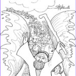 Moses Coloring Pages Beautiful Images Moses Cloroing Pages