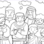 Moses Coloring Pages Beautiful Photography Israelites Grumbled Against Moses Coloring Page