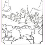 Moses Coloring Pages Best Of Images Moses Giving A Speech Bible Coloring Pages