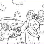 Moses Coloring Pages Inspirational Gallery The People Gathered In Opposition To Moses And Aaron