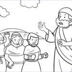 Moses Coloring Pages Luxury Photos Israelites Plaining To Moses Coloring Page