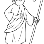 Moses Coloring Pages Luxury Photos Moses Coloring Page