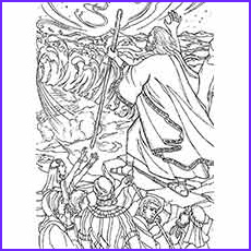 Moses Red Sea Coloring Page Awesome Image Moses Coloring Pages Free Printables Momjunction
