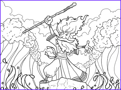 Moses Red Sea Coloring Page Awesome Photos A Fish S Perspective