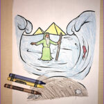 Moses Red Sea Coloring Page Beautiful Collection Moses And The Red Sea Coloring Page – Children S Ministry