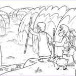 Moses Red Sea Coloring Page Beautiful Collection Parting Red Sea Coloring Page New Moses 10 Plagues Egypt