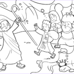 Moses Red Sea Coloring Page Beautiful Image israelites Cross the Red Sea Coloring Page