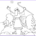 Moses Red Sea Coloring Page Elegant Photography Moses Parting The Red Sea Coloring Page Coloring Home