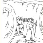 Moses Red Sea Coloring Page Elegant Photos Moses Coloring Pages Crossing The Red Sea Coloringstar