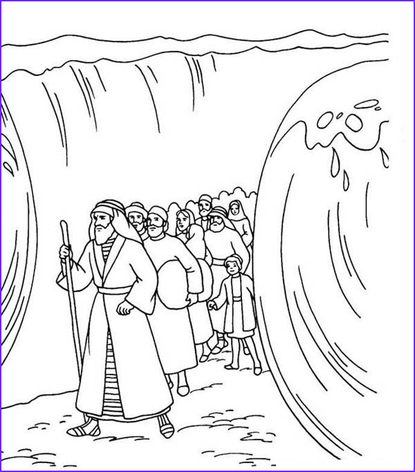 moses crossing the red sea