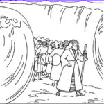 Moses Red Sea Coloring Page Inspirational Photos The Coloring Sheet Shows Moses Parting The Red Sea When