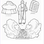 Moses Red Sea Coloring Page New Collection Moses Parting The Red Sea Coloring Page Coloring Pages