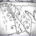 Moses Red Sea Coloring Page Unique Collection God Parting The Red Sea Sunday School Lesson Exodus 14
