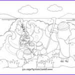 Moses Red Sea Coloring Page Unique Stock Moses Parts Red Sea Coloring Page