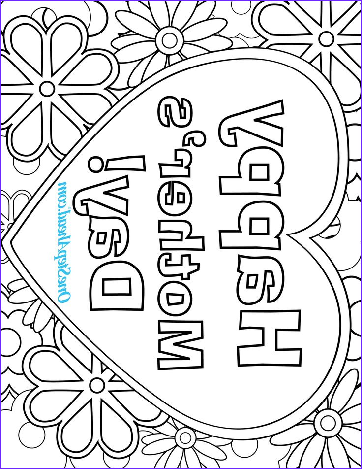 Mother Day Coloring Pages Beautiful Photography Happy Mother S Day Free Coloring Page Printable for Kids
