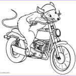 Mouse Coloring Pages Cool Photography Free Printable Motorcycle Coloring Pages For Kids