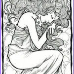 Mucha Coloring Book Awesome Photos Pinterest • The World's Catalog Of Ideas
