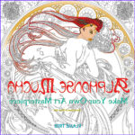 Mucha Coloring Book Best Of Gallery Alphonse Mucha Art Colouring Book Flame Tree Publishing