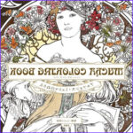Mucha Coloring Book Best Of Images Items Similar To Mucha Coloring Book For Adult Coloring
