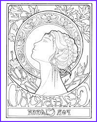 mucha coloring pages