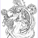 Mucha Coloring Book Elegant Stock Alphonse Mucha Free Coloring Pages