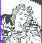 Mucha Coloring Book Inspirational Photos 1000 Images About Mucha Coloring Pages On Pinterest