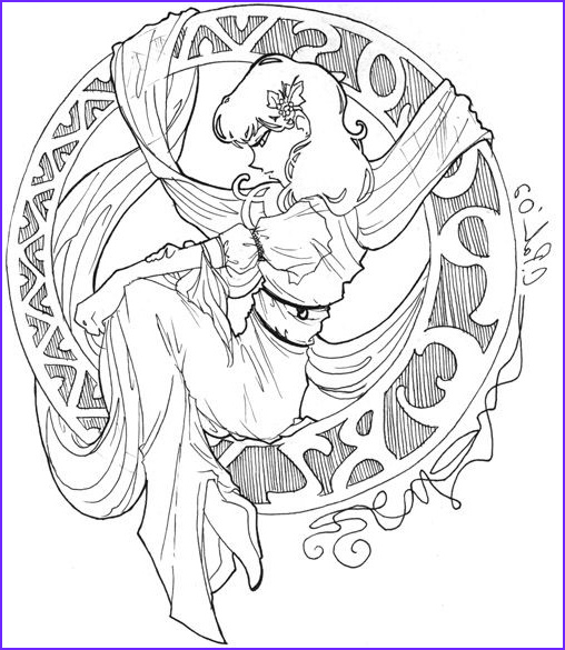 Mucha Coloring Book Luxury Image Mucha Coloring Pages