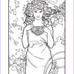 Mucha Coloring Book Luxury Stock 287 Best Images About Colorir Art Nouveau On Pinterest