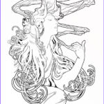 Mucha Coloring Book New Stock Omaggio A Mucha By Llacami On Deviantart