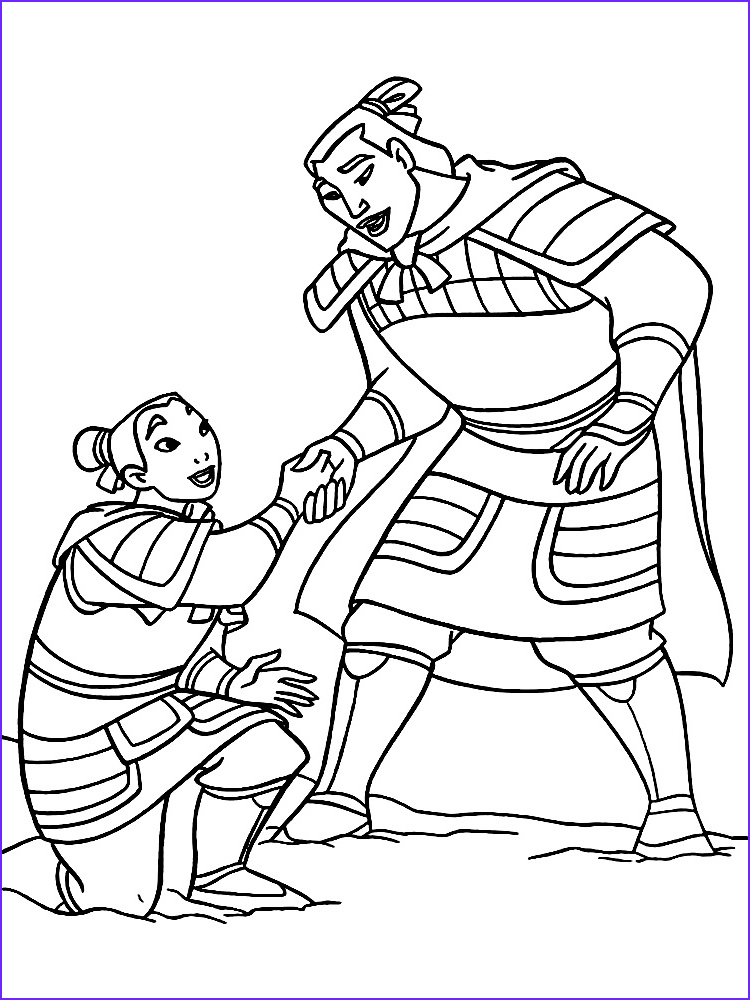 Mulan Coloring Pages Awesome Photos Mulan Coloring Pages to and Print for Free