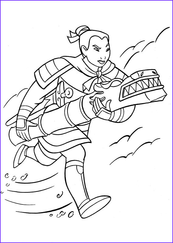 Mulan Coloring Pages Cool Stock Free Printable Mulan Coloring Pages for Kids