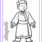 Multicultural Coloring Pages Beautiful Photos Multicultural Coloring Mongolia