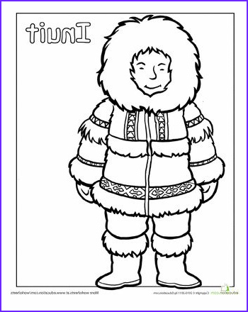 Multicultural Coloring Pages New Photos Multicultural Coloring Inuit