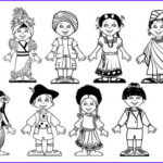 Multicultural Coloring Pages Unique Stock Jesus Loves The Little Children Multicultural Craft