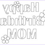 Mum Coloring Page Cool Photos 25 Free Printable Happy Birthday Coloring Pages