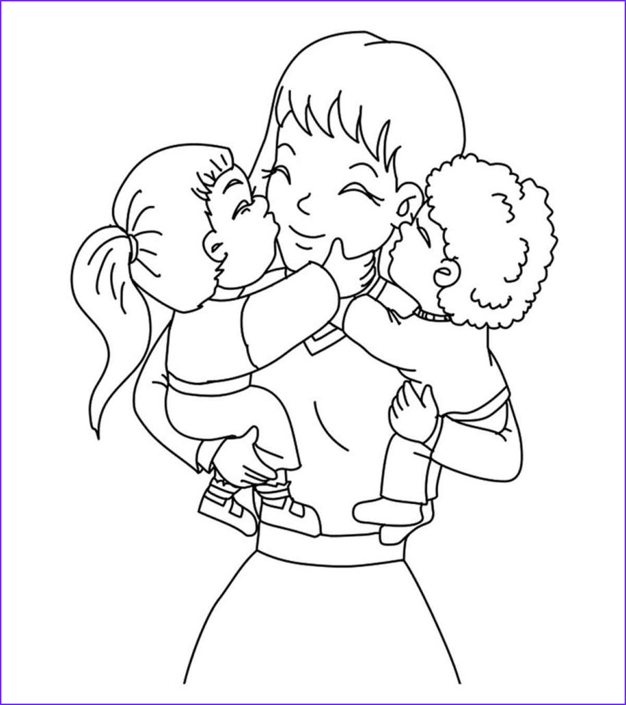Mum Coloring Page Elegant Photography top 20 Free Printable Mother's Day Coloring Pages Line