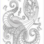 Music Coloring Pages Beautiful Images Musical Instrument