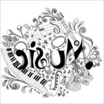 Music Coloring Pages New Photos Printable Coloring Page Zentangle Music Coloring Book