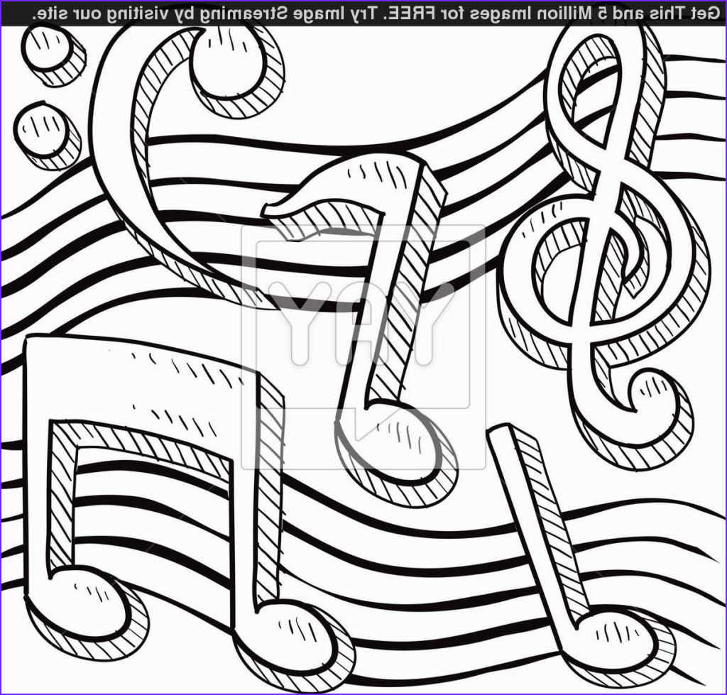 Music Note Coloring Pages Inspirational Image Music Notes Coloring Sheets Coloring Pages