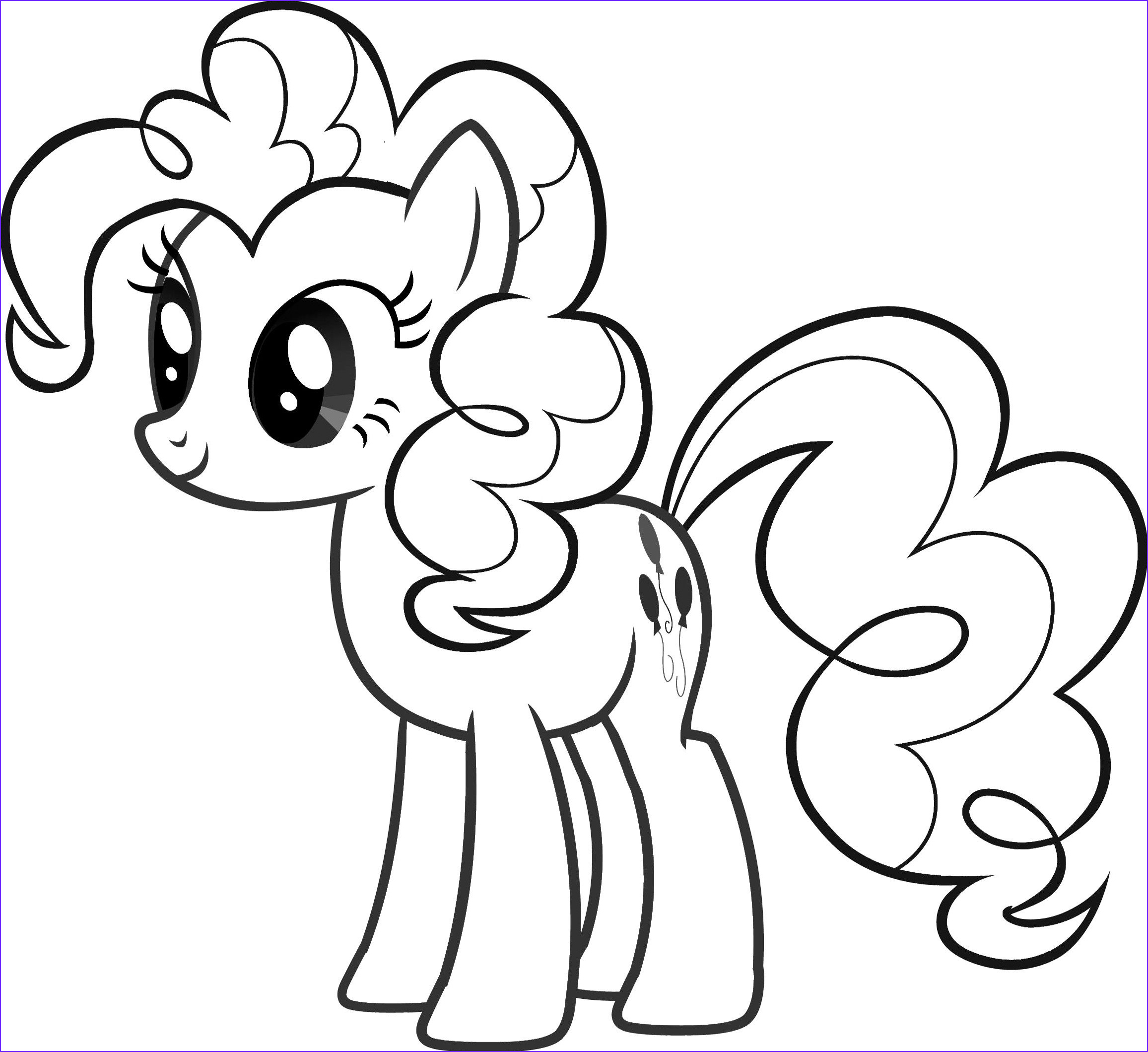 My Little Pony Coloring Pages to Print Best Of Gallery Pinkie Pie My Little Pony Coloring Pages Templates