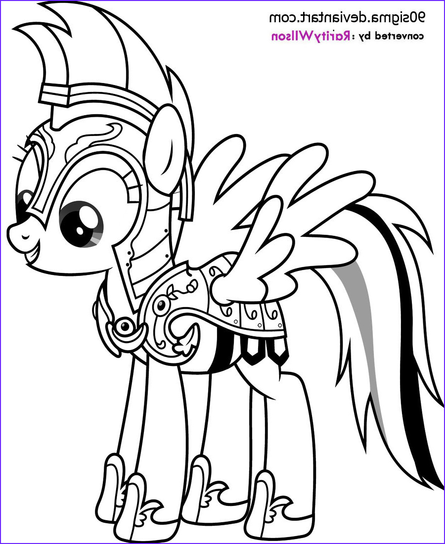 My Little Pony Coloring Sheets Elegant Stock Rainbow Dash Coloring Pages