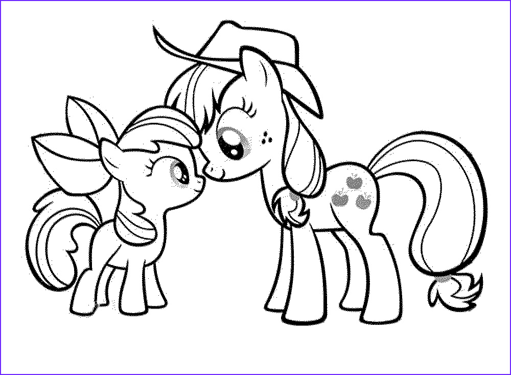 coloring pages of my little pony friendship is magic