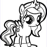 Mylittlepony Coloring Beautiful Gallery Cute Pony Coloring Page